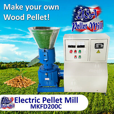 Electric Pellet Mill For Wood - MKFD200C