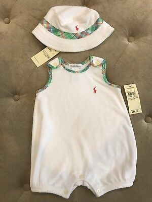 NWT Ralph Lauren Baby Boy Outfit Size 3 Months