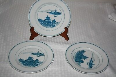 Vintage Chinese Plates set of 3