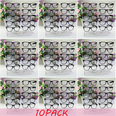 10X Acrylic Clear Display Retail Show Stand Holder Rack For Glasses Sunglasses E