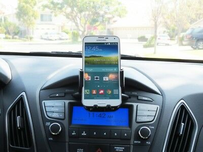 Cellet Heavy Duty CD Slot Cell Phone Holder Car Mount for All Smartphones