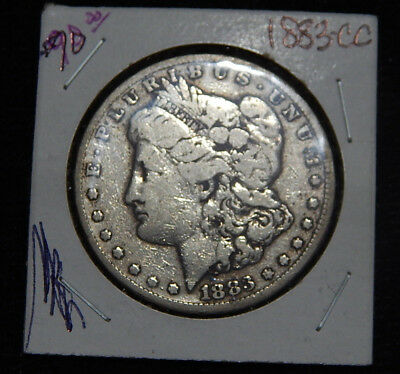 1883-CC Morgan Dollar - Carson City