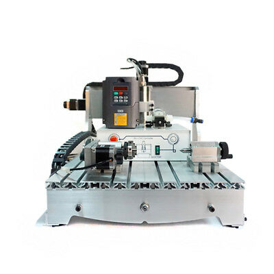 CNC 6040 Z-S 800W 4 Axis 3D wood milling router mini engraving machine