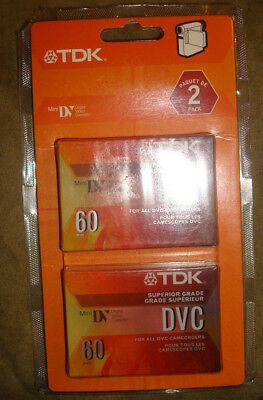 TDK Mini DVC 60 minute 2 pack