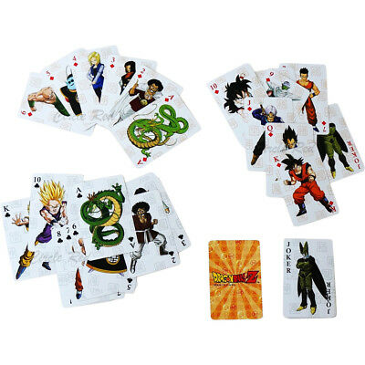 Dragon Ball Z Goku Group Playing Cards New Official Licensed Authentic DBZ