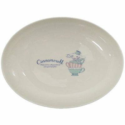 Cinnamoroll 15th Anniversary Curry Pasta Plate Porcelain Tableware Sanrio Japan