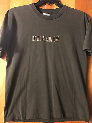 David Allan Coe- If That Ain't Country I'll Kiss Your Ass!- Black T-Shirt- Large