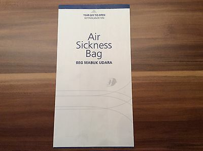 Malaysia Airlines Airsicknessbag