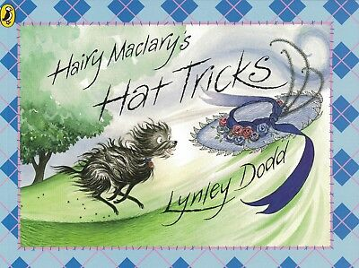Young Children's Rhyming Picture Story Book: Hairy Maclary's Hat Tricks