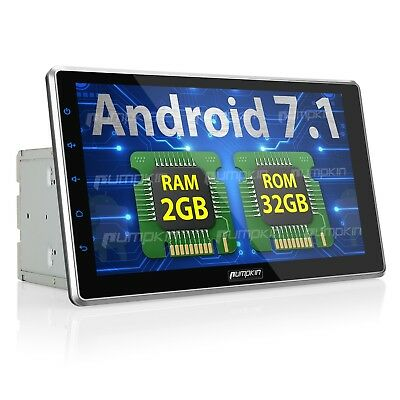 10.1 inch Android 7.1 Car Stereo with Bluetooth, GPS