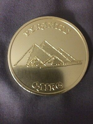 LUCKY CHARMS Magical Worldwide Adventure PYRAMIDS CAIRO Cereal Premium TOKEN