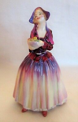 "Royal Doulton ""Dorcas"" 7"" Bone China Figurine * HN1558 * Repaired"
