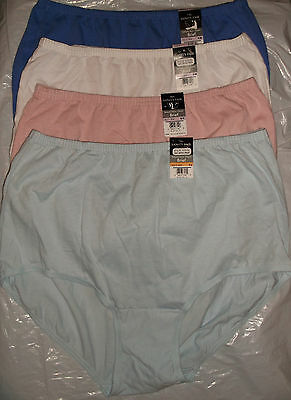 NWT Vanity Fair Perfectly Yours Classic 15319 cotton brief panty panties COLORS