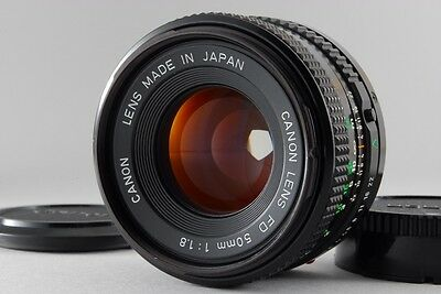 【 EXCELLENT+++++ 】CANON NEW FD 50mm F/1.8 NFD MF LENS from Japan