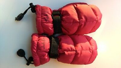 REI mittens warm pink nice  toddler 3 4 5 great condition