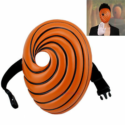 NARUTO Akatsuki Tobi Uchiha Obito Madara Adult Kids Cool Cosplay Prop Mask Gift