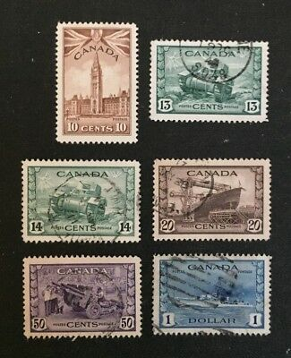 Canadian Stamp Selection of Used