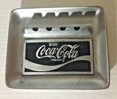 Coca Cola Ashtray New Metal