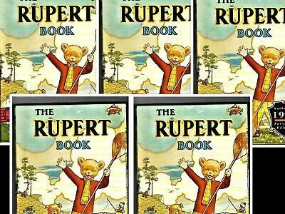 THE RUPERT 1941 FACSIMILE ANNUAL Reprint book BRAND NEW in slipcase, seal intact
