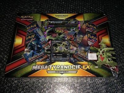 POKEMON Cartes Collection MEGA TYRANOCIF EX Coffret NEUF 100% Français Set 20