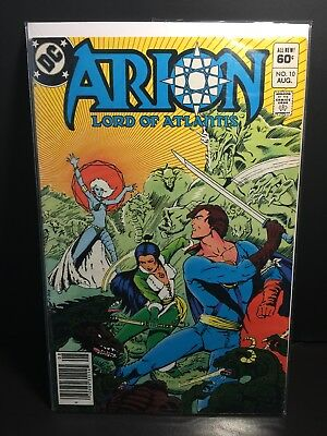 DC Arion Lord of Atlantis Issue 10, 1983