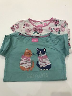 Two Joules T-Shirts Aged 7