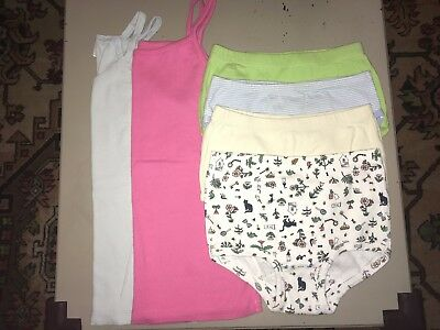 Girl's HANNA ANDERSSON Undershirt Camisoles + Unders Organic Lot - Size 8-10