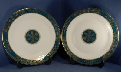 2 x Royal Doulton Carlyle Pattern H 5018 Dinner Plates 2nd Quality