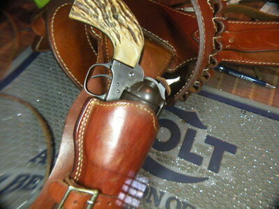 Alfonsons western holster and cartridge rig, buscadero, Colt saa
