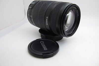 Canon EF-S 55-250mm f/4.0-5.6 VERSION 2 IS Lens with caps
