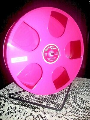 "Wodent Wheel Nail Trimmer-Exercise Combo 11""(Pink/Red) Glider Shield  eBay Store"