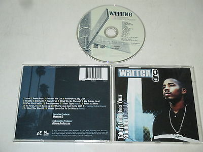 Warren G / Take A Look Over Your Shoulder (Reality)( Def Jam Music 533 484-2) CD