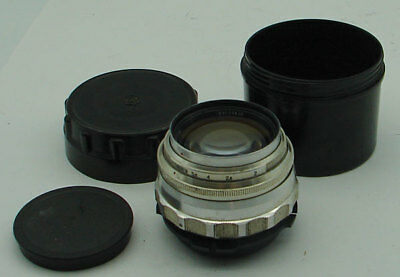 Jupiter-9 2/85mm LZOS lens for ARRI Red One Arriflex PL movie camera, EXC.