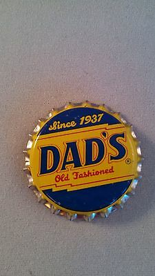 Since 1937 Dad's Old Fashioned Vintage Plastic Lined Bottle Cap *unused*