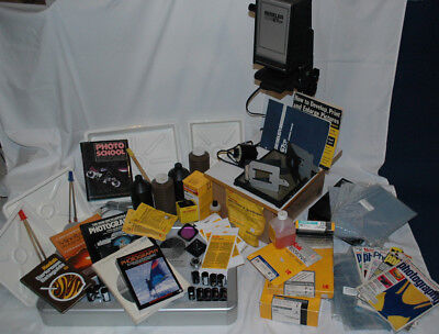 Beseler 67cp Photo Enlarger Darkroom bundle with many many extras