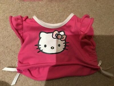 Pink hello kitty 18inch dolls top,crop top