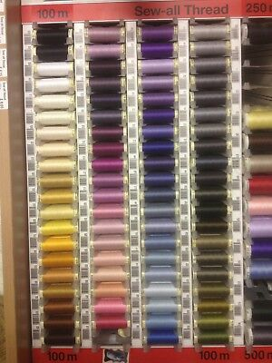 Guterman Sewing Thread 100m polyester select colour combined postage available