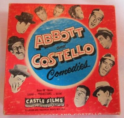 Abbott & Costello Comedies - Midget Car Manics - 8mm Castle Films - B&W