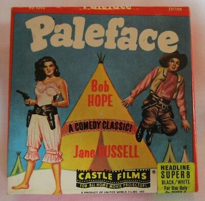 Paleface - with Bob Hope & Jane Russell - 8mm Castle Films - B&W