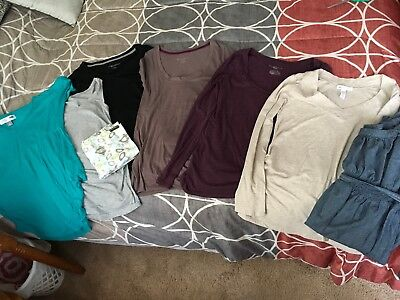 EUC Lot of Maternity Clothes Medium-Large