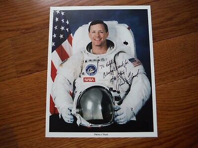 Pierre J Thuot Autographed 8x10 Photo Hand Signed NASA Astronaut PERSONALIZED