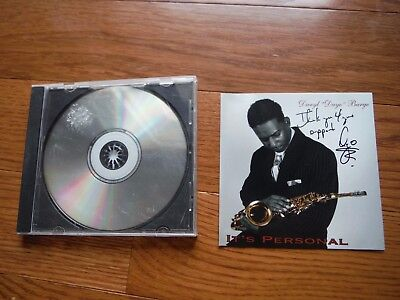 Daryl Burge Autographed It's Personal CD Hand Signed Dayo Jazz