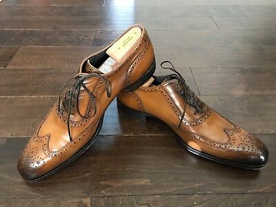 To Boot New York 'Duke' Wingtip Oxford- Cognac- Size 12M $450