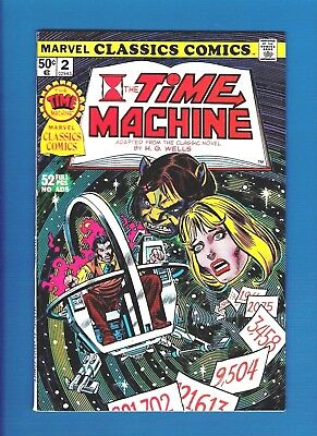 MARVEL CLASSICS COMICS #2 (1976) FN+ The Time Machine