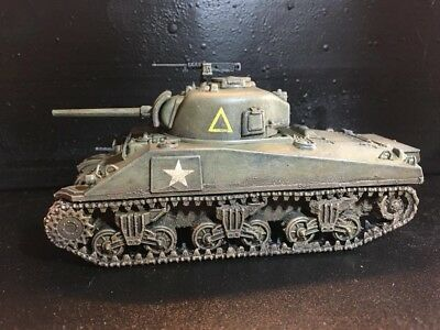Bolt Action 28mm (1/56) British Sherman V tank, 11th Armored Div (painted)