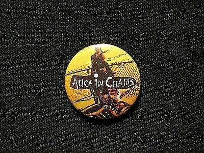 Alice In Chains Vintage Button Badge Pin Not Shirt Patch Cd Lp Uk Import