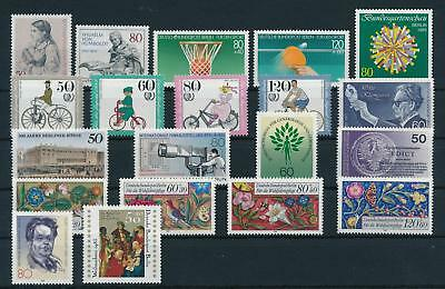 West Germany Berlin 1985 Complete Year Set MNH