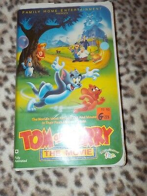 Tom and Jerry - The Movie (VHS, 1993)