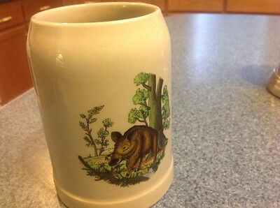 STONEWARE BEER STEIN / MUG west germany