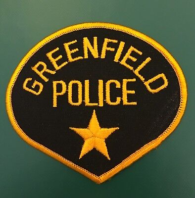Greenfield Wisconsin Police Patch